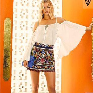 Lulus mini skirt